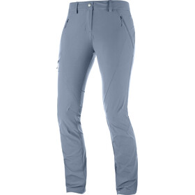 Salomon Wayfarer Tapered Pants Damen flint stone